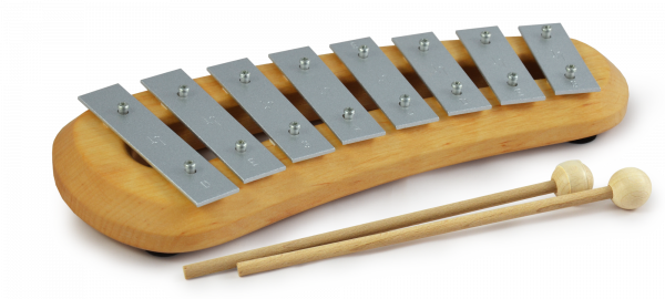 Pentatonisches Glockenspiel mit 8 Tönen Classic
