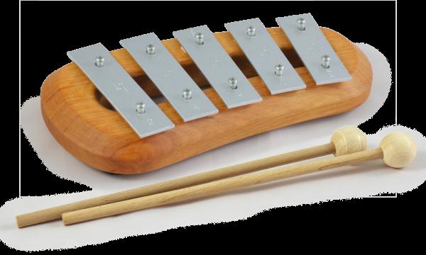 Pentatonisches Glockenspiel mit 5 Tönen Classic